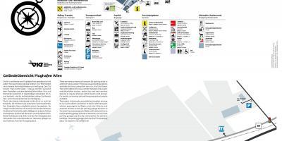 wiens flygplats karta Wien map   Kartor Wien (Österrike) wiens flygplats karta